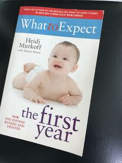 What To Expect The First Year book