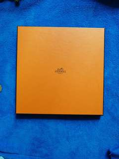 hermes 絲巾盒