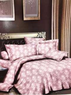 Bed Cover san Sprei Katun Jepang Barbara Leaf