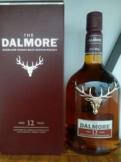 Dalmore 12Y  whisky 威士忌 700ml