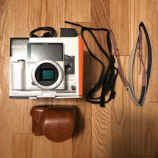 Sony A5000 Camera Body Only (White)