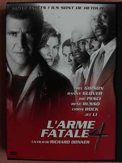 Zone 2 DVD movie - Lethal weapon 4