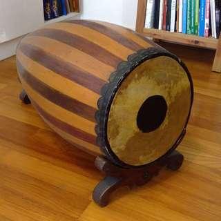 Antique drum