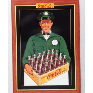 1995 Coca Cola Series 4 Base Card #306 - Metal Sign - 1950s