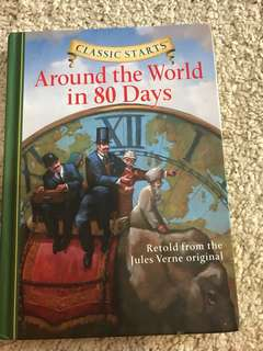 Around the World in 80 days (hard cover)