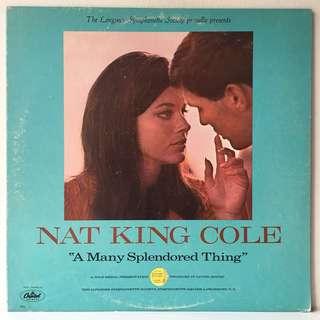 Nat King Cole – A Many Splendored Thing (1965 US Original - Vinyl is Mint)