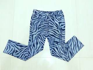 Long Pants (zebra stripe)