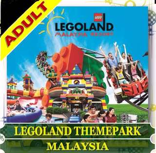 Legoland Theme Park - 2 Adult tickets