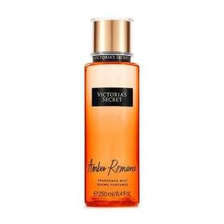 Victoria Secret amber romance fragrance mist