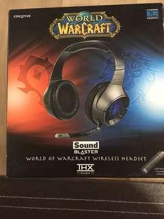 World Warcraft headset