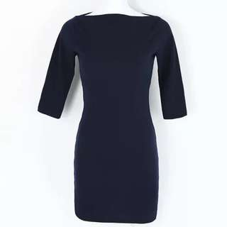 Bodycon Dress(Navy Blue)