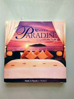 Buku Unseen Paradise Stay in Style
