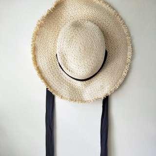 Straw hat / beach hat / IU korea styles