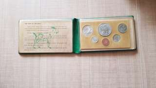 1979 Uncirculated Coin Set Goat