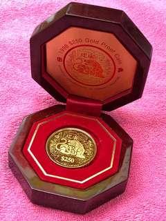(Zodiac Tiger Gold Coin - 999 Gold)