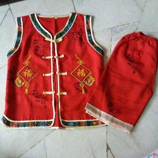 CNY costume set