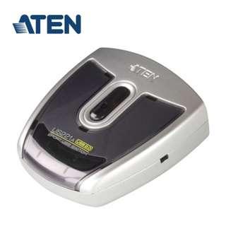 🚚 【sigmanet電腦廣場】全新未拆封ATEN 2埠USB 2.0 周邊切換器(自動切換)US221A