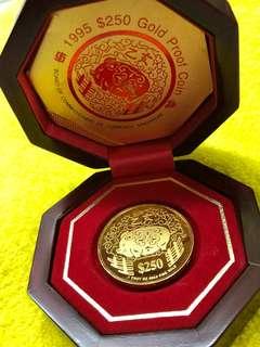Zodiac Pig Gold Coin - 999 Series ❤️❤️