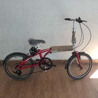 Raleigh Broadway 2.0 Red/White