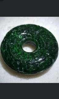 Antique Jade Pendant