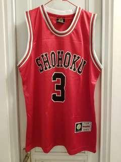 Slam dunk Shohoku jersey #3