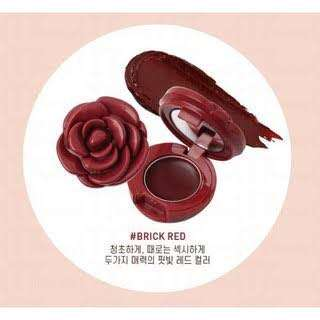 3CE flower lipbalm (red and brick red only)