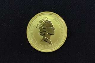 Australia Gold Coin (1/4 Ounce - Pure Gold 999) Year: 1990 ❤️❤️