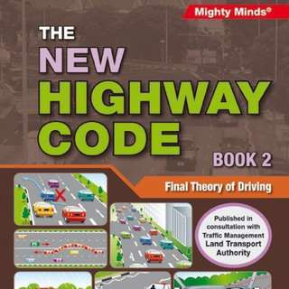 (*TEST QNS PROVIDED) Highway Code Book 2 FTT