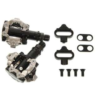 Pedals Shimano PD-M520 + Cleats For MTB