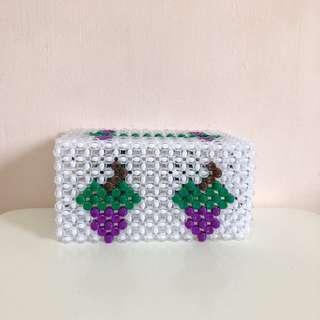 Beaded Tissue Box