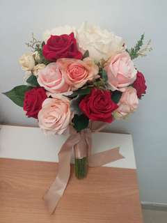 婚禮 絲花球