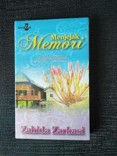 Menjejak Memori oleh Zahida Zarkasi