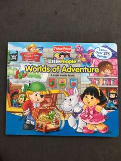 Fisher-Price Little People A Look-Inside book