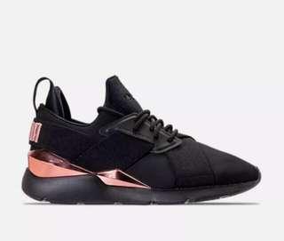 🚚 球鞋代購/美國限量鞋款 Puma Muse 黑配玫瑰金