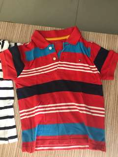 Tommy Hilfiger polo shirt for 4 yrs old kid