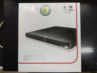 LG Ultra-Slim Portable DVD Writer