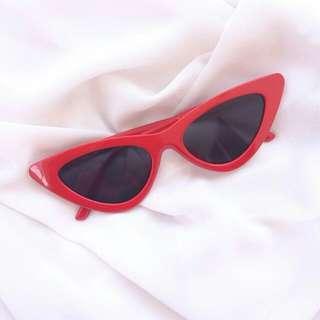 Red Cat Eye Sunglasses #20under
