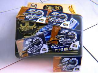 Limited Edition 50th Anniversary Hot Wheels Touch N Go card