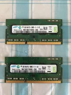 Laptop Ram 4GB PC3-12800S