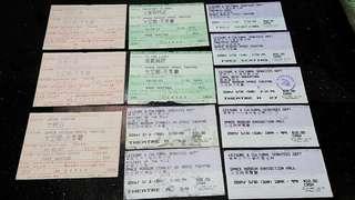 (八十年代起) 香港太空館(天象廳)-入場票尾(懷舊