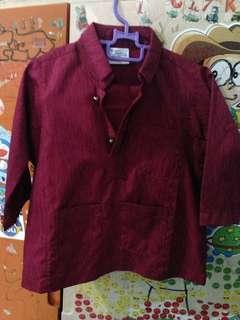 Baju Melayu budak 1-2y