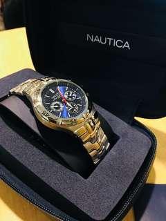 Nautica Stainless Steel Mens Watch