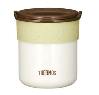 Thermos warming rice containers container 0.6 ivory JBP-250 IV