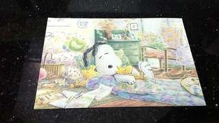 (九十年代)Snoopy town -溫馨明信片(懷舊玩具