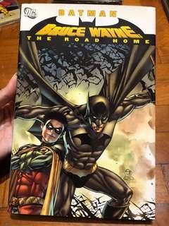 Batman Bruce Wayne the road home first printing 2011