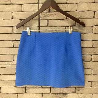 韓版壓紋短裙