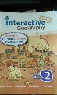 Interactive geography changing climate changing environment elective two