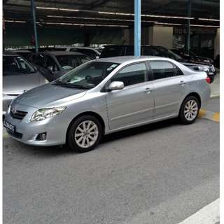 TOYOTA ALTIS WANTED