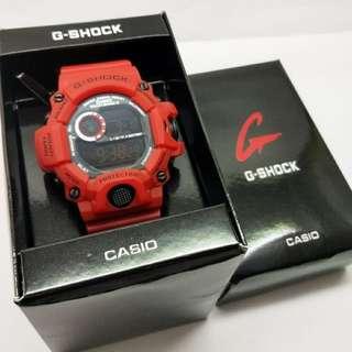 Gshock rangeman 9400 merah