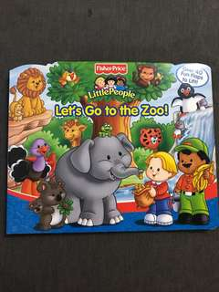 Fisher-Price Little People Flap book